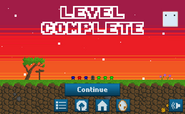 Pixelescape-levelcompletionscreen