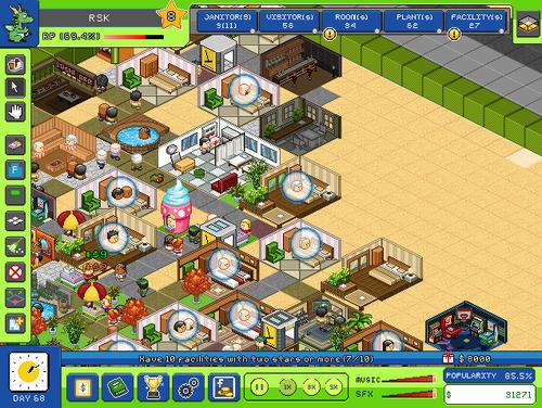 Resortempire-interface