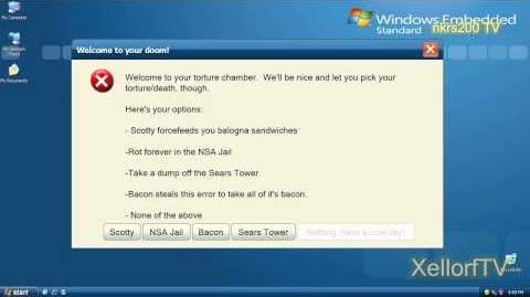 Microsoft Sam reads Funny Windows Errors Season 7 Episode 9 Part 2