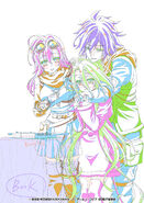 No Game No Life Zero Sketch - 22