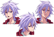 No Game No Life Zero Character Model Sheet - Riku 2