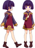 No Game No Life Zero Character Model Sheet - Nonna