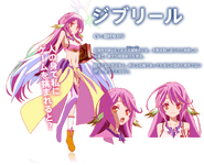 Character Design - Jibril