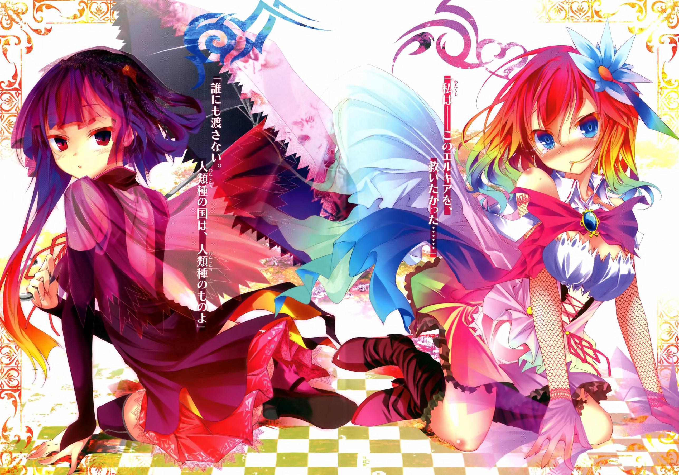 Light Novel Volume 1 No Game No Life Wiki Fandom