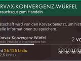Korvax-Konvergenz-Würfel