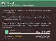 Nickel beschreibung