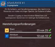 Atlas-Pass 1
