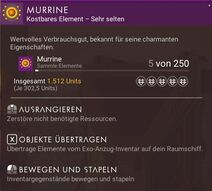 Murrine textbox