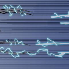 The 9th Elder shooting beams.