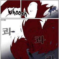 Raskreia attacks Rai with her Blood Field.