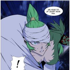 Bashum tells Mirai to save the sole survivor.
