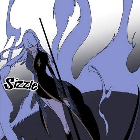 Seira draws out Death Scythe.