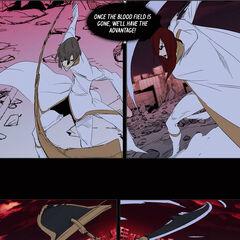 Zarga and Urokai plan to break the blood field.