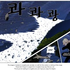 Muzaka's attack destroys a mountain range.