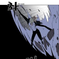 Franken violently attacks Takeo.
