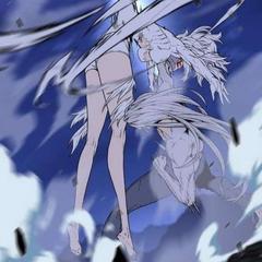 Muzaka punches Garda.