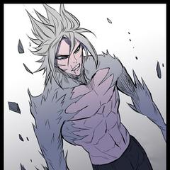 M-21 fully transforms after Rai 'awakens' his inner power.