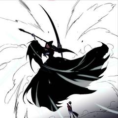 Seira prepares the Grim Reaper attack.