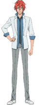 Yusuke Tashiro anime design