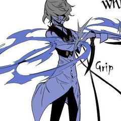 Rael brings out his soul weapon, Grandia.