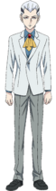 Regis K. Landegre anime design