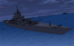 8th fleet battleship