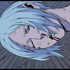 Gotaru's dead body.