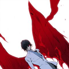 Raizel summons his Blood Demon form.