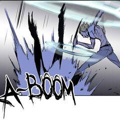 Rael slams M-21 to the ground.