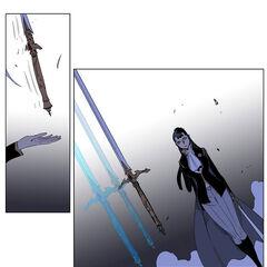 Rai hands over the real Ragnarok to Raskreia.
