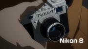 Capa's Nikon camera