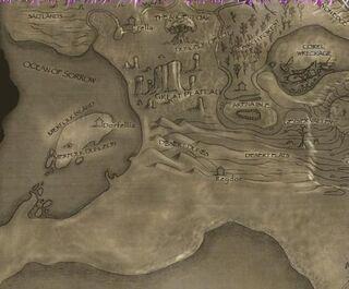 Desert Dunes-Map
