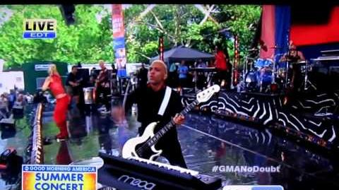 "No Doubt - ""Settle Down"" (Good Morning America, July 27, 2012)"