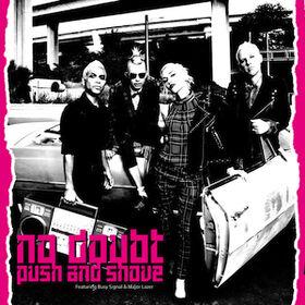 No Doubt Push and Shove cover artwork