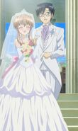 Yuuto and Haruka Married