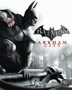 Batman Arkham City Game Cover