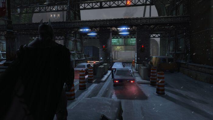 Batman Arkham Origins No Hud
