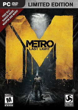 Metro- Last Light Cover