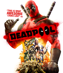 Deadpool video game cover