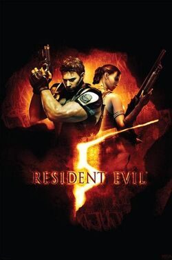 Resident Evil 5 poster