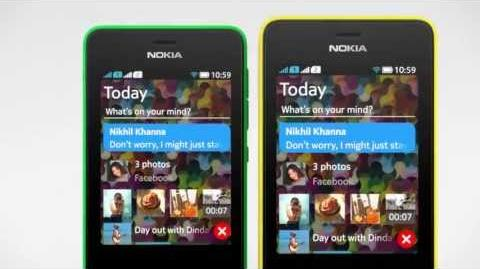 New Nokia Asha 501 Dual SIM - One swipe to access everything you love