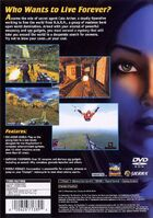 NOLF1 PS2 BackCover