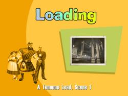 A Tenuous Lead Title