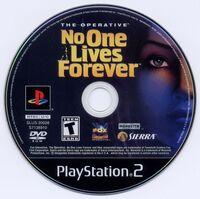 NOLF1 PS2 CD