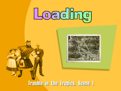 Trouble in the Tropics Title