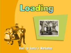 Visit to Santas Workshop Title