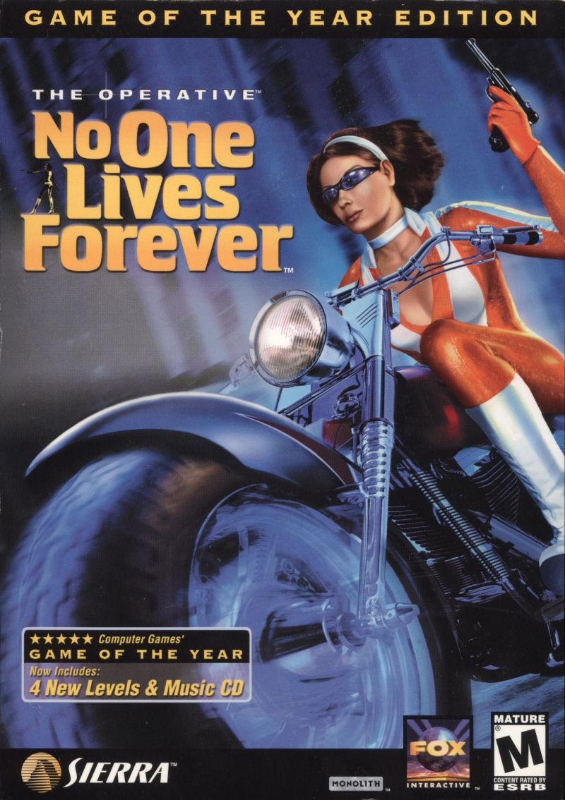 NO ONE LIVES ONE 34