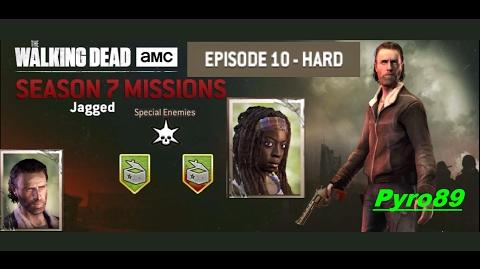 The walking dead no man's land (S07 Episode 10 - Jagged) No damage