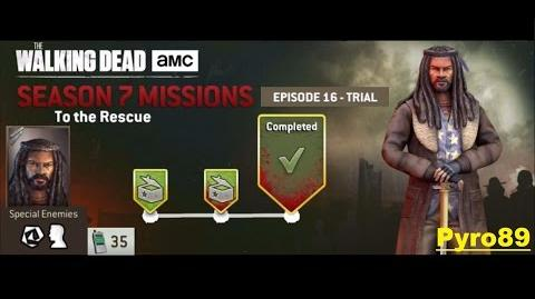 The walking dead no man's land (S07 Episode 16 Trial 5-5 To the rescue) + 35 Radio