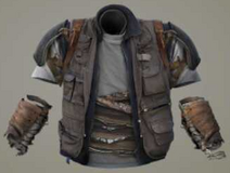 Hunter reinforced highwayman vest